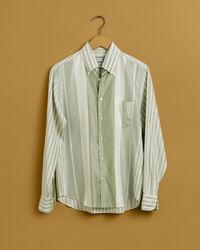 EZ Fit Seiden Hemd mit Streifen