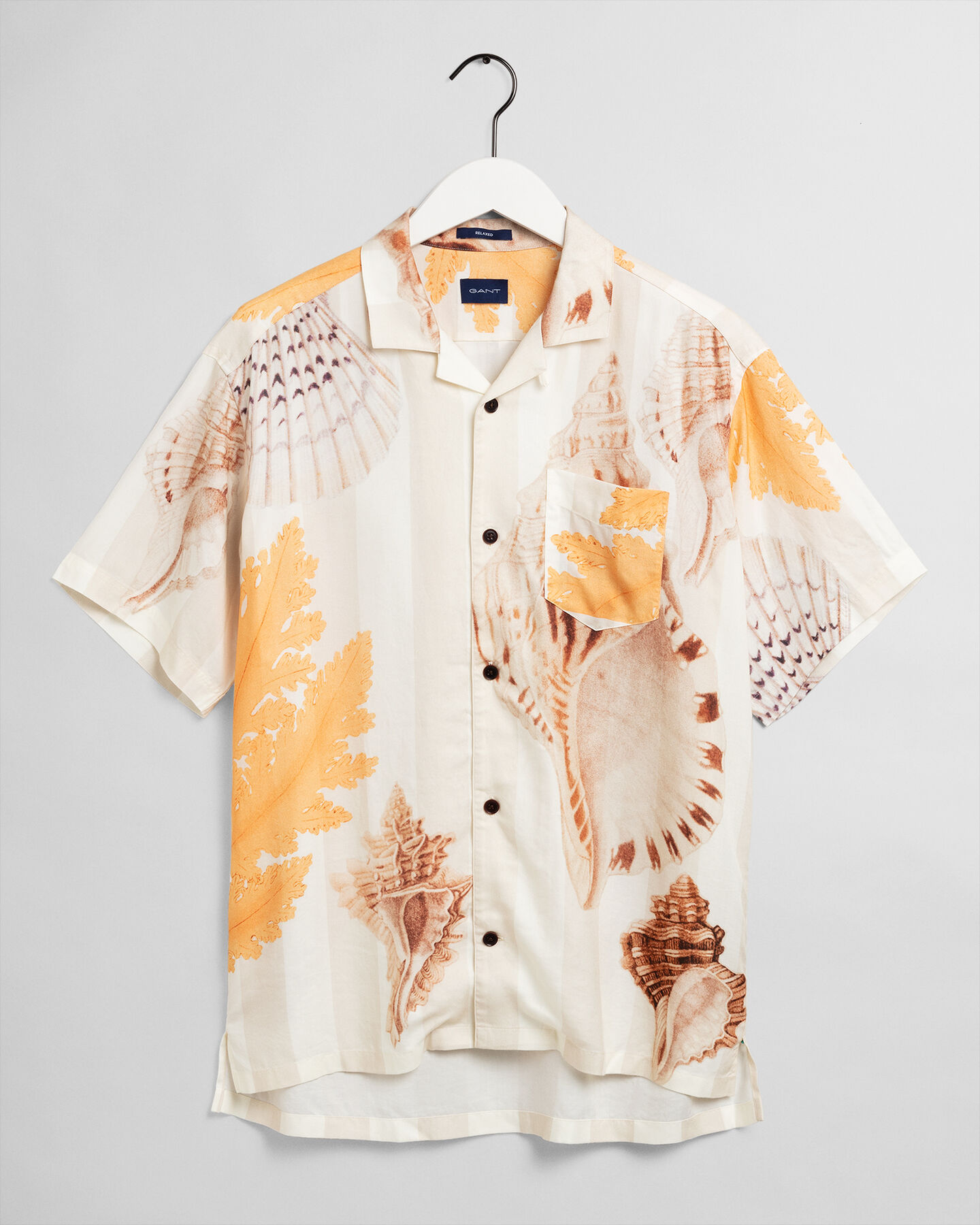 Relaxed Fit Seaside Hemd mit Print