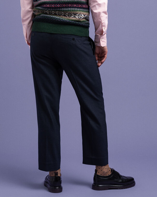 Hugger-Fit Slacks