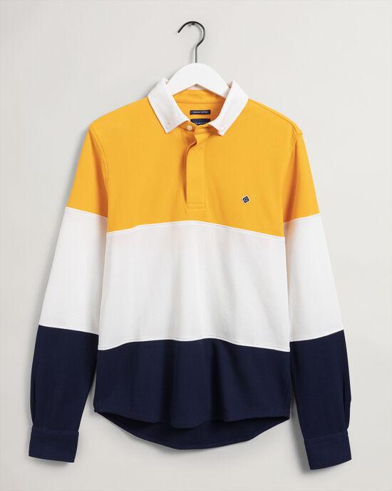 Rugger Langarm-Hemd aus Jersey