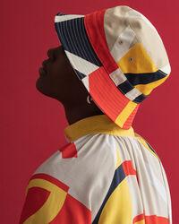 Iconic G Midikleid im Blockfarbendesign