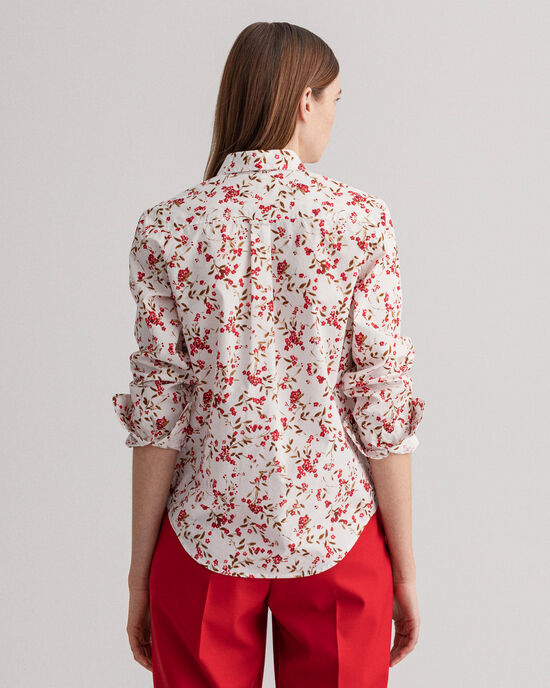Rose Bud Bluse mit Print