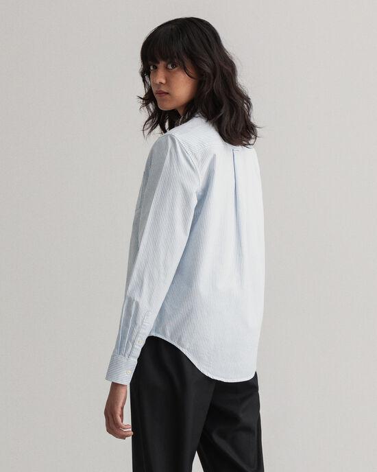 Oxford-Bluse mit Streifen
