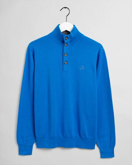 Sporty Pullover mit Stehkragen