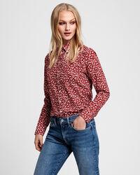Summer Bluse aus Baumwoll-Voile mit Blumenprint