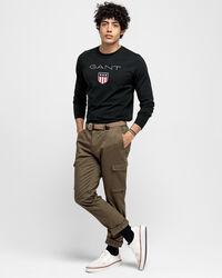 Shield Langarm-T-Shirt