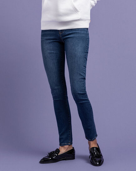 Travel Skinny Fit Indigo Jeans