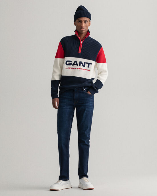 Maxen Extra Slim Fit Retro Shield Jeans
