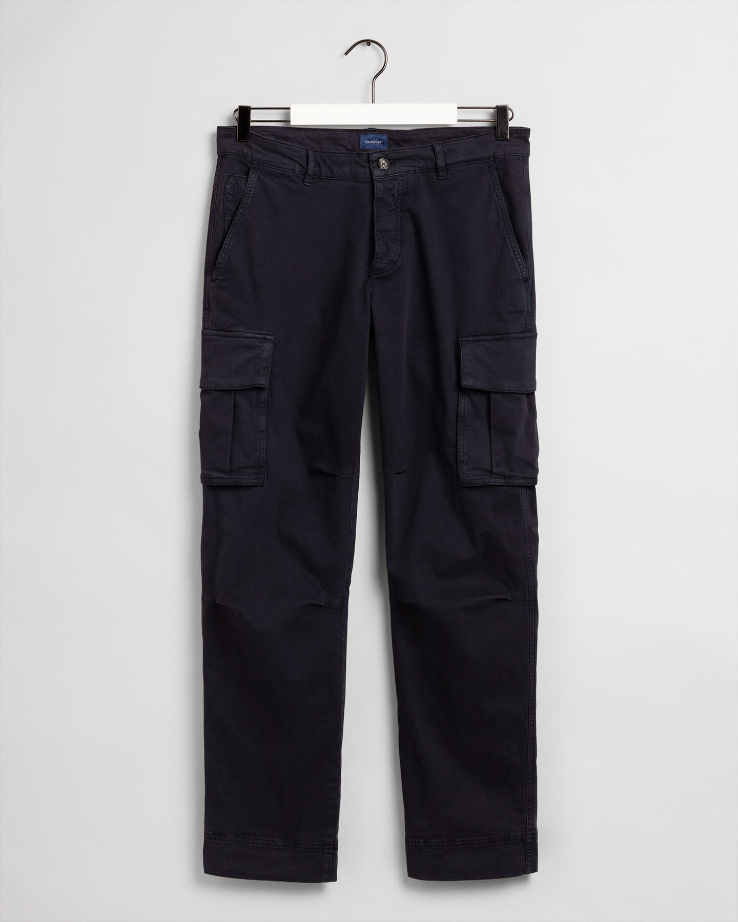 Regular Fit Cargo-Chinohose