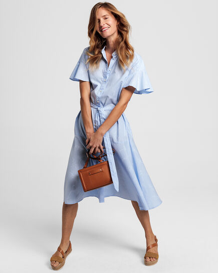 Pure Prep Kleid mit Print