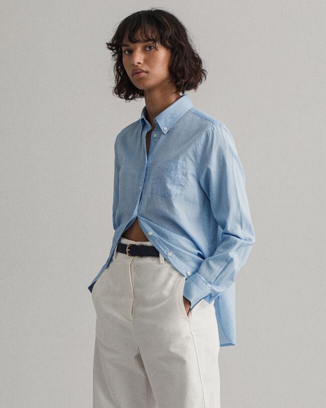 Air Oxford Regular Fit Bluse