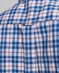 Tech Prep™ Regular Fit Broadcloth Kurzarm Hemd mit Karomuster