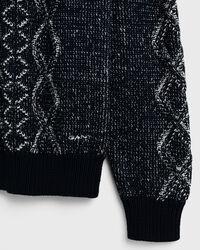 Zopfmuster Pullover