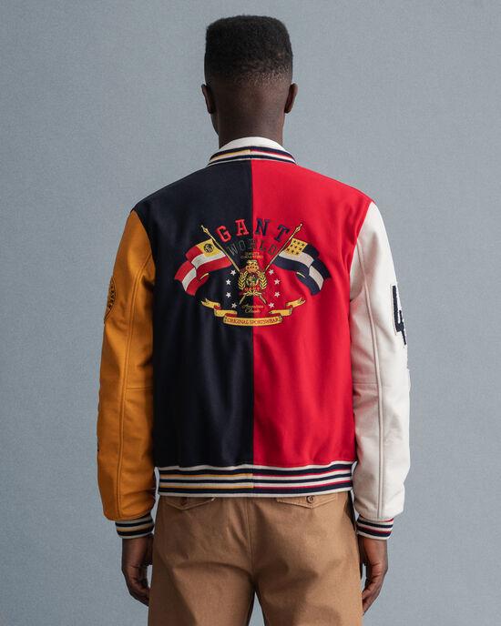 GANT Varsity Badge Jacke