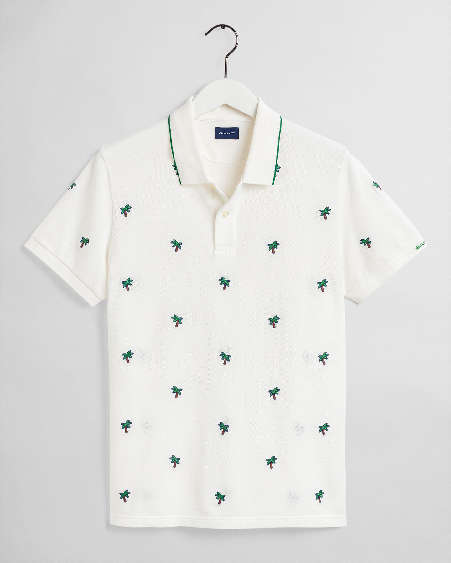 Palm Tree Piqué Poloshirt