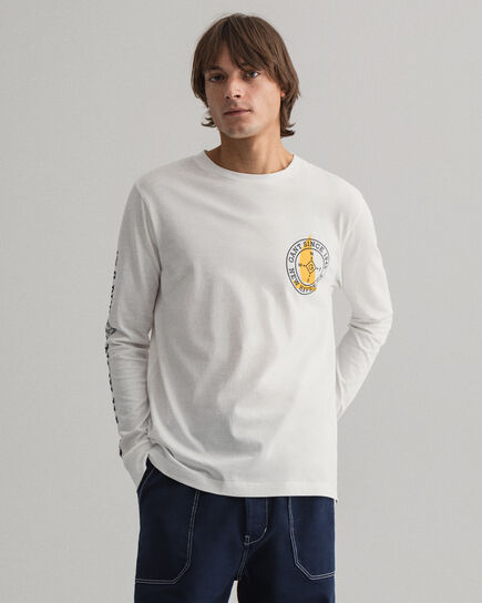 Nautical Langarm-T-Shirt