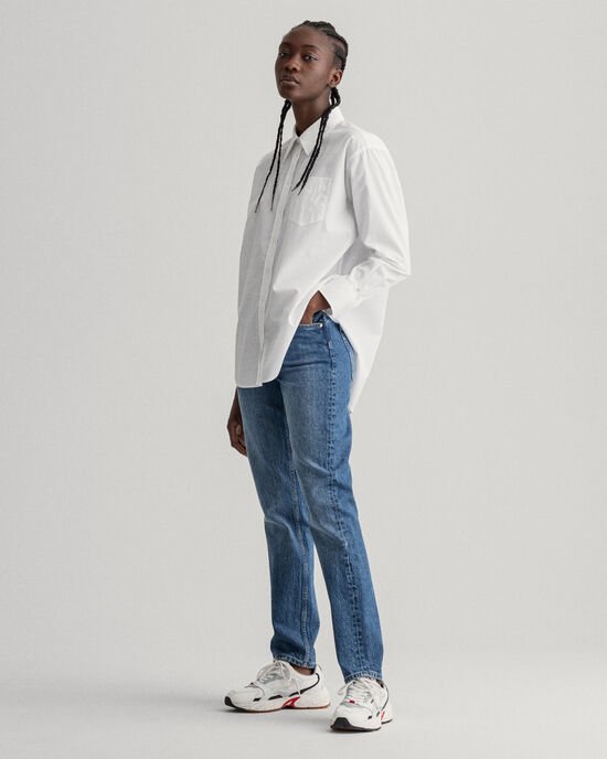 Hayle Regular Fit Button Fly Jeans