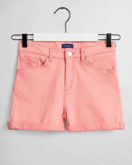 Teen Girls Twill Shorts