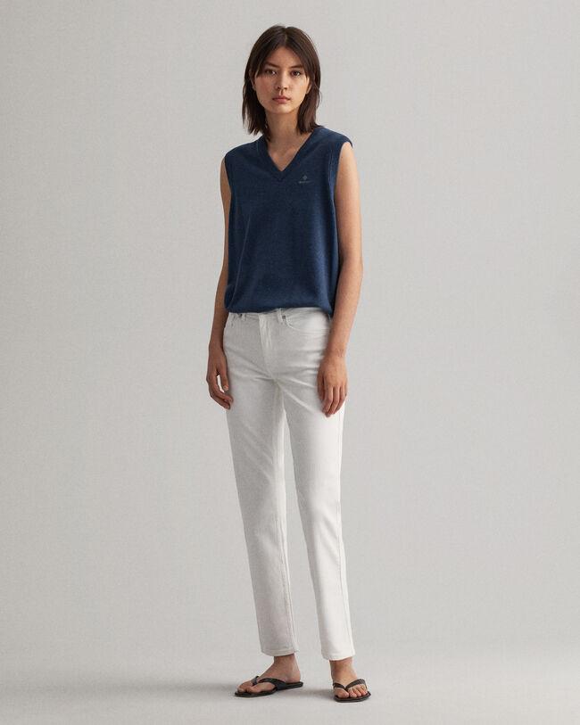 Hayle Regular Fit Jeans in Weiß