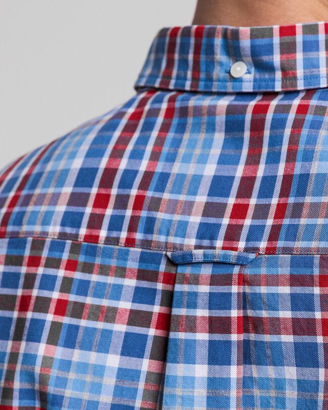 Preppy Regular Fit Tartan Oxford-Hemd