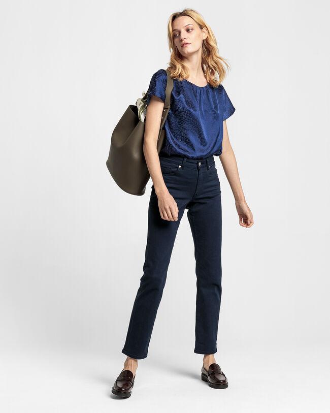 Slim Fit Twill Jeans