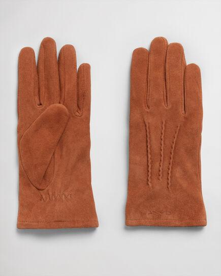 Handschuhe aus Veloursleder