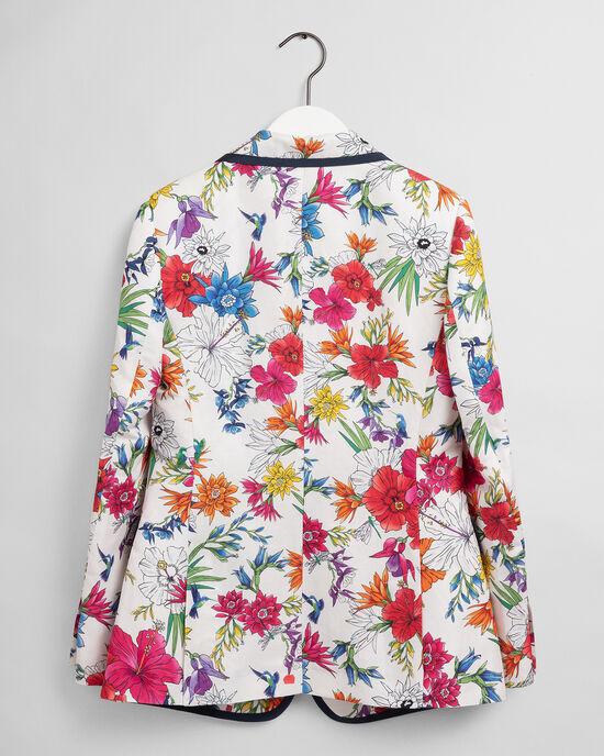 Humming Floral Blazer mit Print