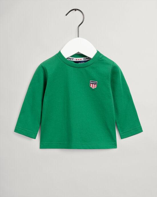 Baby Boy Retro Shield Langarm-T-Shirt