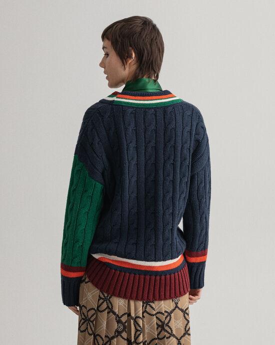 GANT Varsity V-Neck Pullover