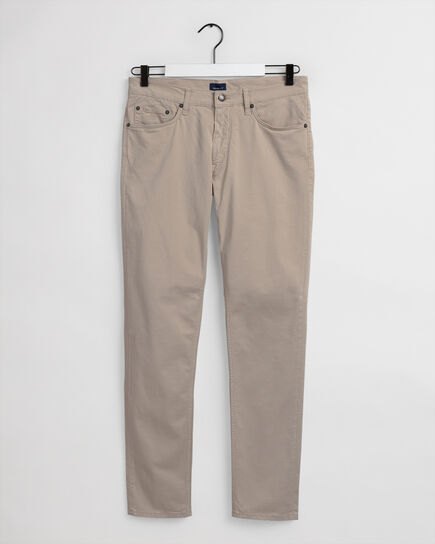 Hayes  Slim Fit Satin Jeans