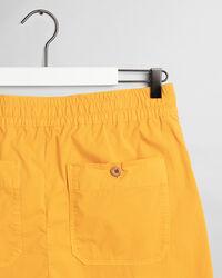 Oversized Cotton Shorts