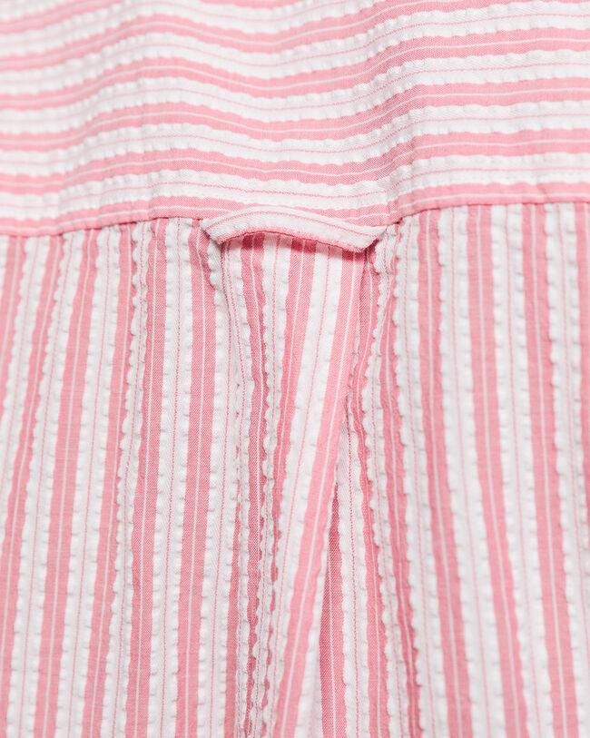 Pure Prep Seersucker Bluse