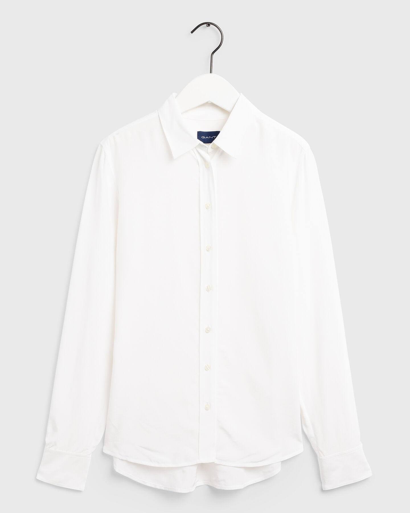 Solid Crepe Shirt