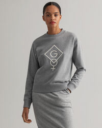 Graphic Logo Rundhals-Sweatshirt