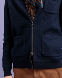 Boiled Wool Strickjacke
