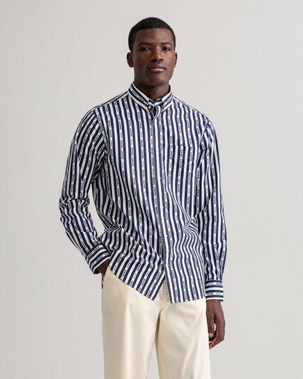 Regular Fit 1949 Hemd mit Streifen