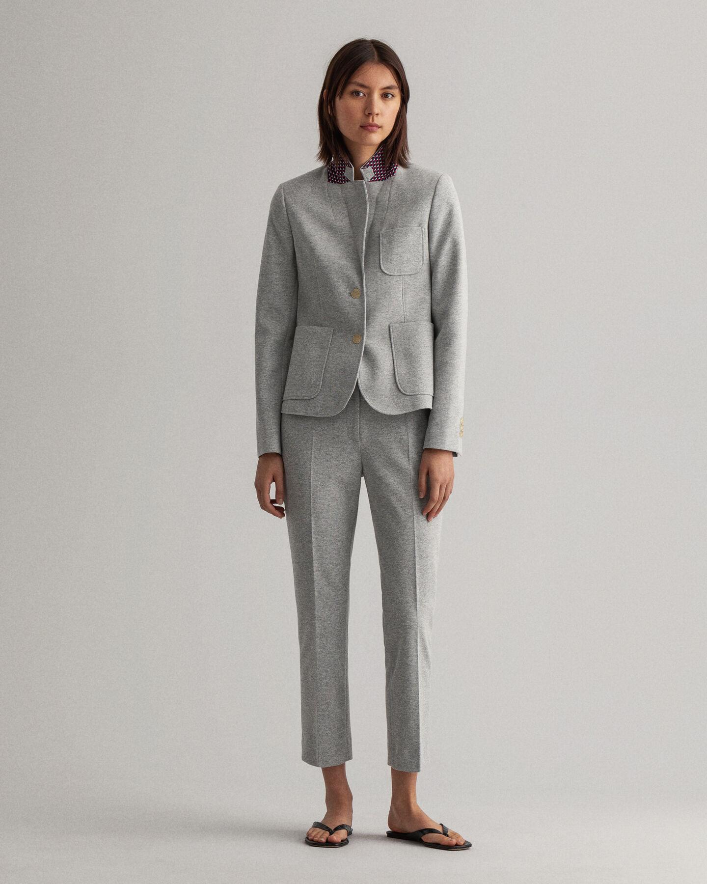 Tech Prep™ Slim Fit Jersey Piqué Blazer