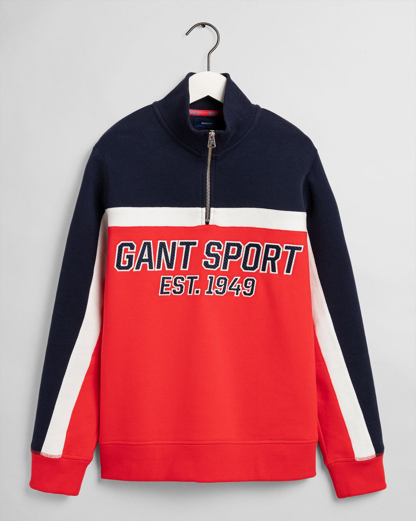 Teen Boys Sport Sweatshirt mit Reißverschluss