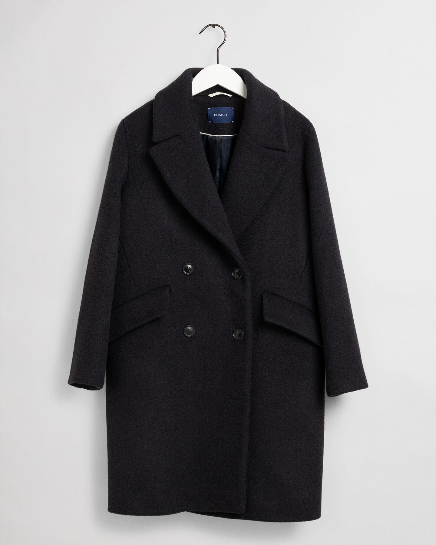 Oversize Mantel aus Wollmischung