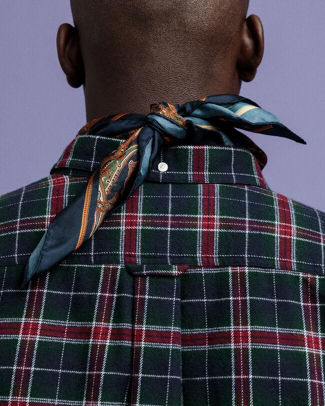 Regular Fit Flanellhemd mit Karomuster