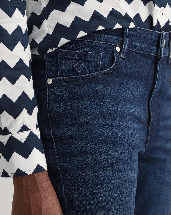 Farla Slim Fit Cropped Jeans