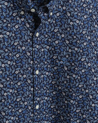 Leaf Slim Fit Hemd mit Print