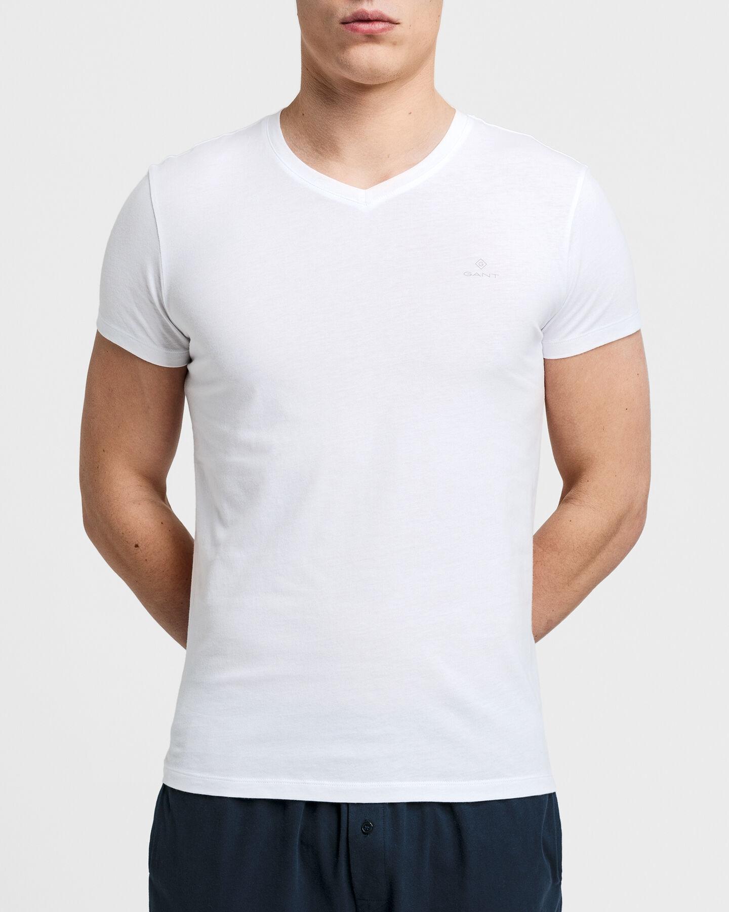 2er-Pack V-Neck T-Shirts