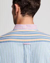 Windblown Regular Fit Oxford-Hemd mit Streifenmix