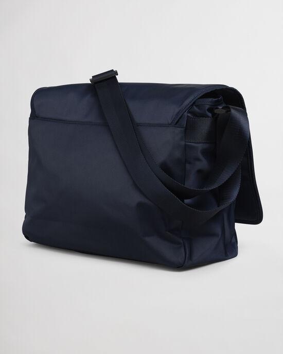 Retro Shield Messenger Bag