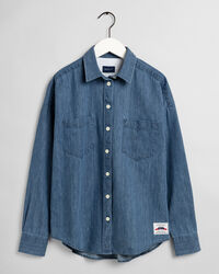 Rough Weather Denim Bluse