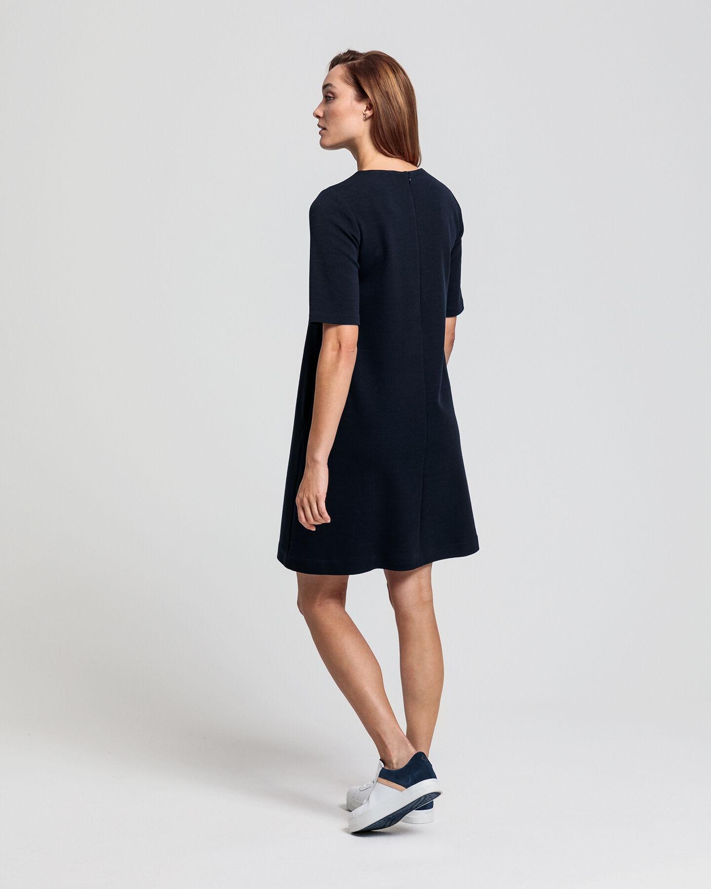 Jersey Piqué Kleid