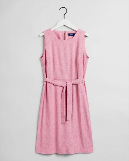 Stretch Leinen Kleid