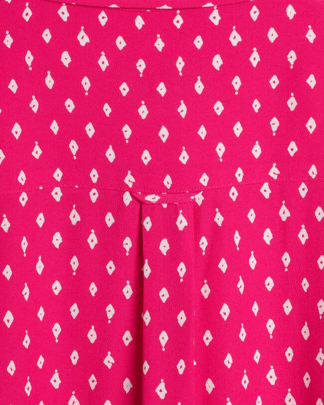 Desert Jewel Print Hemdblusenkleid