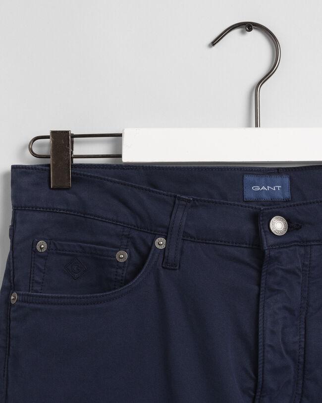Hayes  Slim Fit Satin Jeans